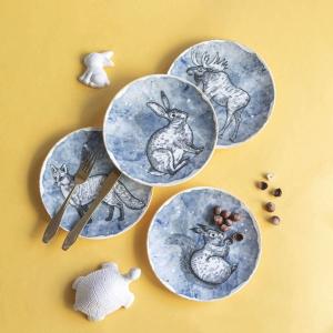 Chi Chi North Pino 6 Parça Porselen Pasta Takımı